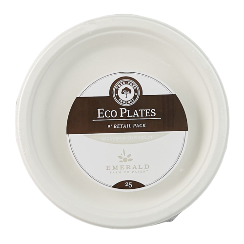 Emerald Compostable Plates