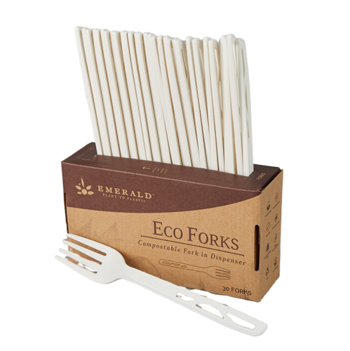 Emerald Compostable Forks
