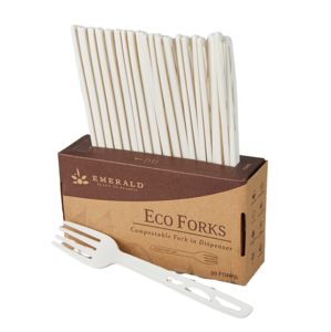 Emerald Compostable Forks