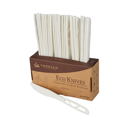 Emerald Compostable Knives