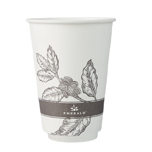 Emerald Compostable Hot Cups