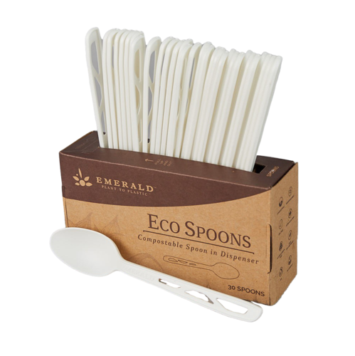 Emerald Compostable Spoons