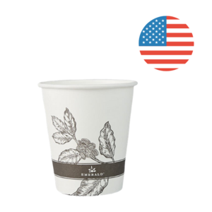 Emerald Tree Free 10 oz. Hot Cups