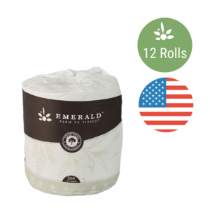 Emerald Bathroom Tissue 12 Rolls
